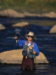 Fly Fishing, Animas River, CO