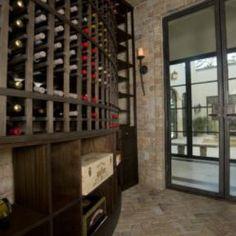 Custom Wine Cellar | 1800winerooms.com | #wine #houston