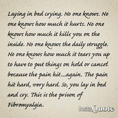 Fibromyalgia Soooo very true