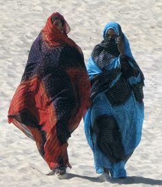 Mauritania Melhaf fabrics, or Shbgka