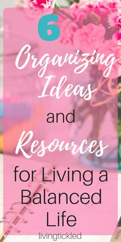 6 Organizing ideas and resources for living a balanced life, happiness, organization ideas, positive living, motherhood What does positive living look like? Organization and life balance. Here are six ideas and resources for organizing your life. Tips And Tricks, Life Organization, Organizing Ideas, Organising, Organizing Life, Konmari Methode, Affirmations, Purpose Quotes, Finding Purpose