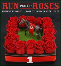 Kentucky Derby Party: Run for the Roses Centerpiece Ideas ...