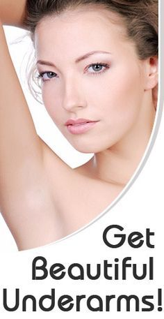 How to Get Beautiful Underarms: Waxing is a good option, if removes dead skin and the area looks lighter!