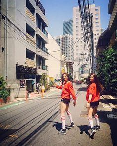 Chorong! With Naeun | Instagram update