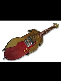 Custom red corn guitar designed for Colorful Harvest produce company. - Follow @Musical Harvest and visit www.musicalharvest.com. Guitar quotes start at $1000 - email guitars@musicalharvest.com for your custom design quote today.