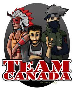 Mindcrack - Team Canada FanArt by GGgunner47
