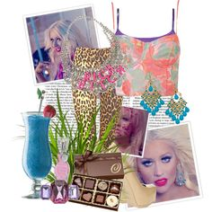 """""""Christina Aguilera - Your Body"""" by lovely-princess on Polyvore"""