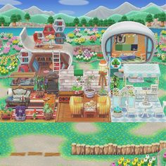 Animal Crossing 3ds, Animal Crossing Wild World, Animal Crossing Pocket Camp, Campsite Decorating, Happy Home Designer, Aesthetic Videos, Christmas Animals, New Leaf, Fan Art