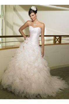 Occasion du mariage  Robe de mariée organza collection 2011
