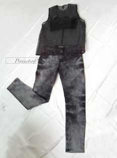 black see through organza blouse fashion black by productsofme, $4.00