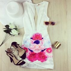 Super Cute Outfit For Summer #chic