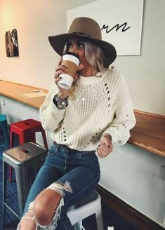 99 Fall Outfits ideas for Winter fashion 2019 my love fall fashion women's clothing jeans tops how to wear jeans outfits going fashion eve dress outfits - May 25 2019 at Winter Outfits For Teen Girls, Cute Fall Outfits, Fall Winter Outfits, Autumn Winter Fashion, Trendy Outfits, Winter Clothes, Winter Style, Winter Outfits Women 20s, Outfits With Hats