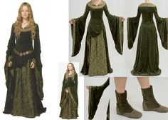 Eowyn Green dress --  I will make this some day.