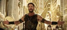 Gerard Butler as Set in Gods of Egypt