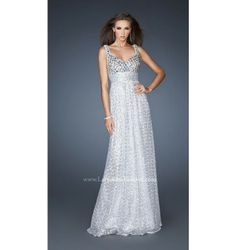 $450.00 LaFemme Prom Dress at http://viktoriasdresses.com/ Through John's Tailors