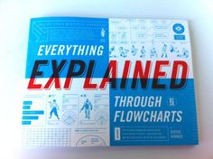 Everything Explained Through Flowcharts by Doogie Horner.