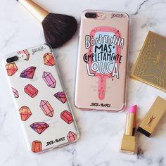 AVISO AOS NAVEGANTES: Hoje lança no Brasil o #iphone7 e o #iphone7plus! Que tal aproveitar nosso NOVEMBRO BLACK e adquirir logo as roupinhas do seu novo iPhone? #ficaadica {cases: pedras preciosas e bonitinha} [NA COMPRA DE DUAS GOCASES VOCÊ GANHA 50% OFF NA TERCEIRA] #gocasebr #instagood #iphonecase #phonecase #makeup #pink #diamonds #sigaosbaloes #blcknov #gocaseblack Diy Case, Diy Phone Case, Cool Phone Cases, Phone Covers, Cellphone Case, Iphone 7 Tumblr, Iphone 7 Plus Rose, Ipad, Cute Cases