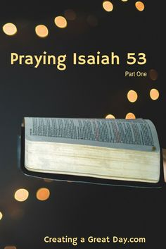 Praying God's words bring us to a whole new level of intimacy and takes us out of prayer ruts.