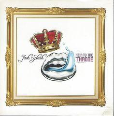 Jack Splash - Heir To The Throne (CD) Promotional CD (Slim Cardboard Slip-caase)