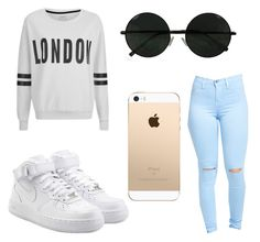 """""""Untitled #20"""" by kmackall on Polyvore featuring NIKE and ONLY"""