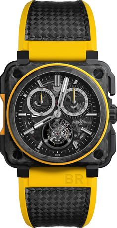 #Horology - #BellAndRoss presents its new #Watch in collaboration with #RenaultSportF1 - #F1 - #Formula1 - BR‑X1 RS16 Tourbillon - April 2016 ---