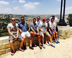 """""""Bachelor Weekend"""" from Germany touring Jerusalem.#ibookIsrael #Jerusalem #Bachelor #Israel #Tour"""