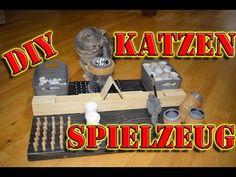 Fummelbrett für Katzen * Katzenspielzeug selber bauen* Intelligenzspielzeug für Katzen selber machen - YouTube