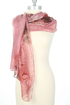 Excite All's Well That Scarfs Well In Pink