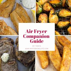 This Crispy Air Fryer Fish Recipe is delicious and healthy. Tried and true method for golden and crispy fish filets in the air fryer. Air Fryer Fish Recipes, Air Frier Recipes, Air Fryer Dinner Recipes, Cooks Air Fryer, Air Fryer Steak, Air Fryer Fried Chicken, Air Fried Food, Cooking Recipes, Healthy Recipes