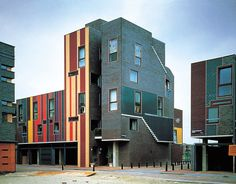 6 dwellings, amsterdam