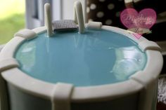 "Piping Gel (Home made) Recipe type: Baking I love to use this recipe when I need to make ""water"" for my cakes, like in this Dora swimming pool cake. I just dollop it on top of my blue fondant, and voila! It's also great for anything that needs a syrup-like consistency when decorating …"