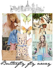 """Butterfly fly away"" by janedoe-neverletmego ❤ liked on Polyvore"
