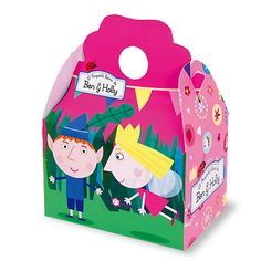 Our Ben & Holly's Little Kingdom party boxes work equally well as a meal box for picnics or as party bags.