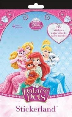 Disney Princess Palace Pets Stickerland Reward Stickers 295 ct by Trends International >>> You can find out more details at the link of the image.