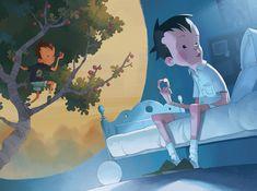 Júlia Sardà Concept Art and Illustration Baba Yaga, Game Character Design, Character Design Inspiration, Children's Book Illustration, Character Illustration, Concept Art World, Illustrations And Posters, Cartoon Styles, Illustrators