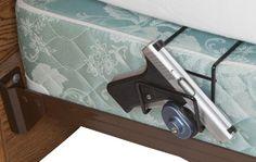 Rack'Em Bed Buddy Home Defense Gun Holder-Single