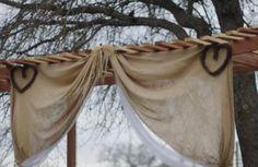 Rustic barn wedding Wedding Tips, Our Wedding, Wedding Planning, Dream Wedding, Gazebo Wedding Decorations, Wedding Arbors, Garden Gazebo, Best Friend Wedding, Fantasy Wedding