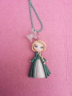 Duchess Necklace fimo polymer clay by Artmary2 on Etsy, €12.00