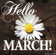 Hello March! Via Positivity Toolbox on Facebook