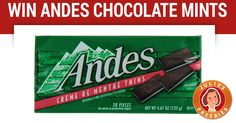 Win Andes Chocolate Mints