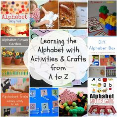 How much fun is teaching and learning the alphabet?!?! The answer is soooo much fun. If you are looking for some great ways to get your children learning their abc's, look no further. I have packed this page full of fabulous information, crafts, games, sensory play, printables, and more. All for you and your little …