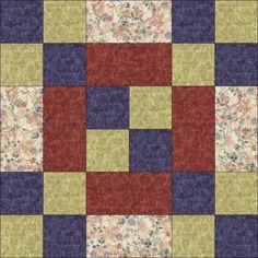 Block# 3  Fort Pitt. American History Quilt  Need 8 identical.