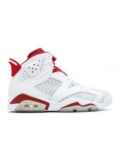 647b52177ce Air Jordan 6 Retro Alternate White Gym Red Pure Platinum 384664 113 Jordans  For Men