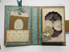 ::::::::::::::::::::: Tanjas Kreativecke ::::::::::::::::::::::::: Boxen - Verpackungen Teelichkarte mit Toot Envelope Punch Board, Tealight Candle Holders, Paper Gifts, Making Out, Box, Tea Lights, Stampin Up, Scrap, Diy Crafts