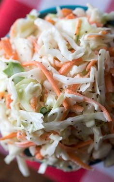 Friends, you're never going to need another coleslaw recipe again. My mom makes the absolute best sweet coleslaw and I'm sharing her secret recipe with you today. Best Sweet Coleslaw Recipe Luckily, my mom isn't Sweet Coleslaw Recipe, Kfc Coleslaw, Coleslaw Salad, Creamy Coleslaw, Coleslaw Recipe With Celery Seeds, Red Lobster Coleslaw Recipe, Creamy Cole Slaw Recipe, Homemade Coleslaw Dressing, Recipes