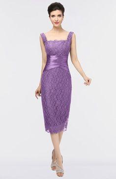 Mature Column Sleeveless Zip up Lace Bridesmaid Dresses