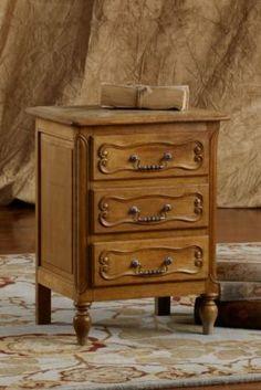Bayonne Oak End Table from Soft Surroundings