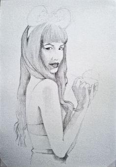 Female, Art, Draw, Kunst, Art Education, Artworks