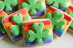 Double Decker Shamrock Cookies