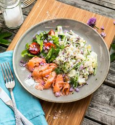 Always Hungry, I Want To Eat, Foods To Eat, Food For Thought, Cobb Salad, Dinner Recipes, Food And Drink, Tasty, Healthy Recipes